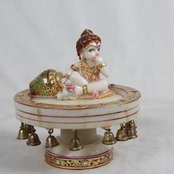 Revolving Marble Krishna