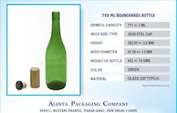 750 Ml Bounchards Bottle