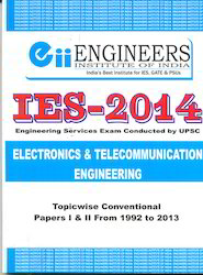 IES 2014 Electronics And Telecommunication Engineering Book