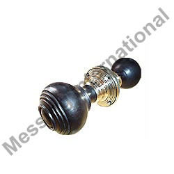 Wooden Ebonised Door Knobs