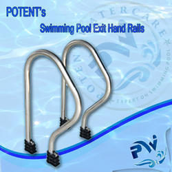 Swimming Pool Exit Grab Rail