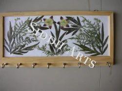 Eco Friendly Dry Leaf Key Holder