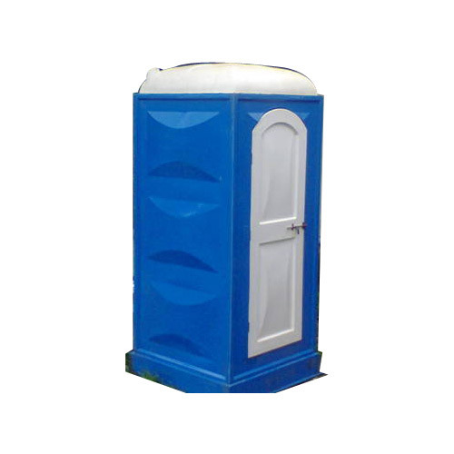 FRP Portable Single Toilet Cabin in Indian style