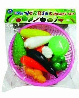 Plastic Vegetables Basket Set