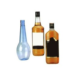 Plastic Liquor Bottles