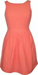 Cotton Plain Dress