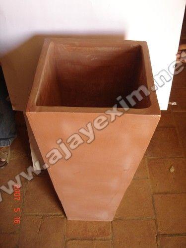 Clay Garden Planter