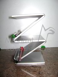 Acrylic Double Z Pen Holder