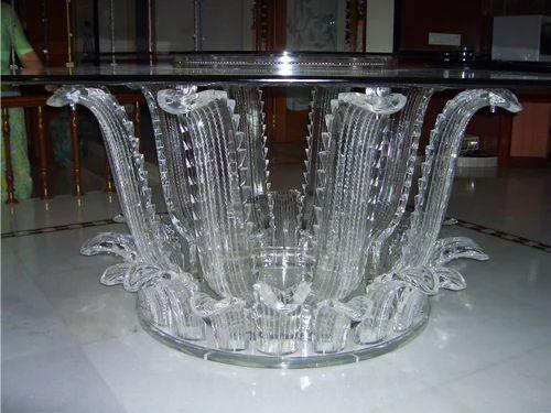 Acrylic Dining Tables   Acrylic Rotating Display Unit Manufacturer From  Mumbai