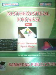 IIT Jam Mathematical Physics Vol I