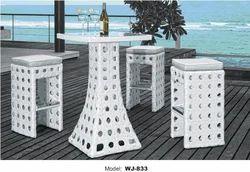 Wicker Bar Table