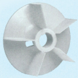 Plastic Fan Suitable For Bharat Bijlee 225 Frame Size 4 Pole