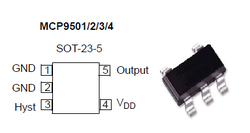 Temperature Switch With Selectable Hysteresis