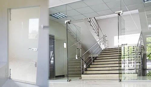 Commercial Glass Door Partition