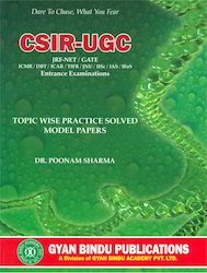 CSIR-UGC Life Sciences Topic Wise Practice Solved - Book