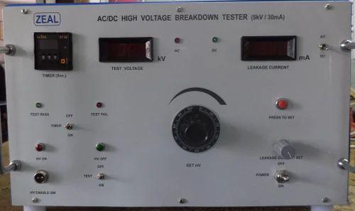 AC DC High Voltage Breakdown Tester