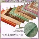 Printed Viscose Carpet