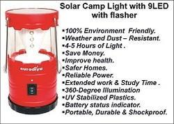 Solar Camp Light