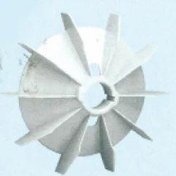 Plastic Fan Suitable For Siemens/BharatBijlee 160 Frame Size
