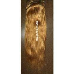 Dark Blonde Straight Remy Hair Extensions