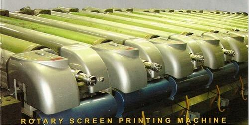 Rotary Textile Screen Printing