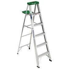 industrial a type aluminium ladders
