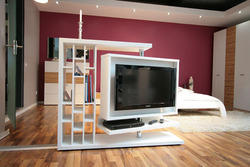 Modern Entertainment Wall Unit