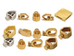 Brass Earthing Accessories Clamps