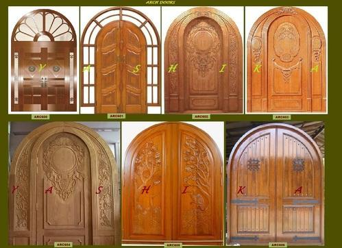 Arch Double Door Entrance Doors And Windows Yashika