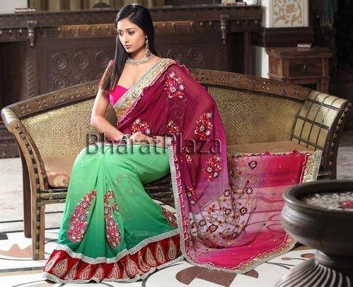 Spellbinding Reception Saree