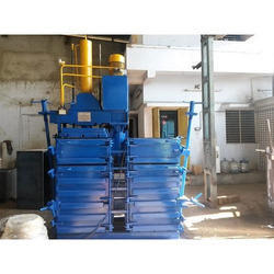Double Box Pressing Unit Rotatable Baler