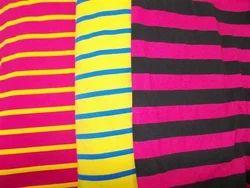 viscose cross dyed striper jersey fabric