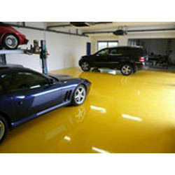 Epoxy At Parking Areas