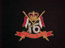 16th/5th Queens Royal Lancers Blazer Badges
