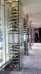 Stainless Steel Wine Cellar