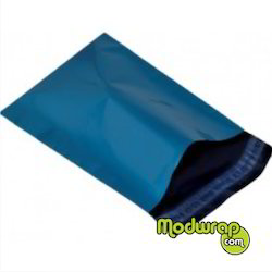 Blue Opaque Tamper Proof Courier Bags