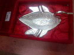Silver Plated Duck Bowl