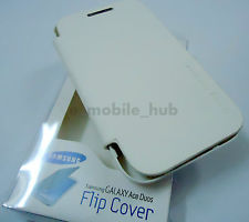 For Samsung Galaxy Ace Duos S6802 White Flip Cover