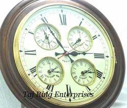 World Timer Wall Clock