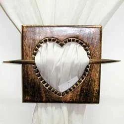 Wooden Curtain Tie Backs