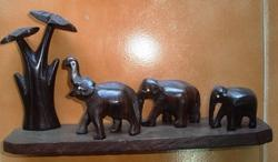 Wooden+Crafts+-+Elephant+Statue