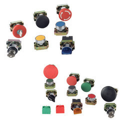 Push Button (Metal Series) 22.5 mm without Contact Elements