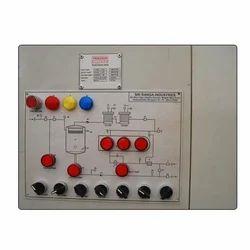 Transformer Oil Filter System Panel