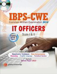 IBPS CWE IT Officers Scale I II Educational book