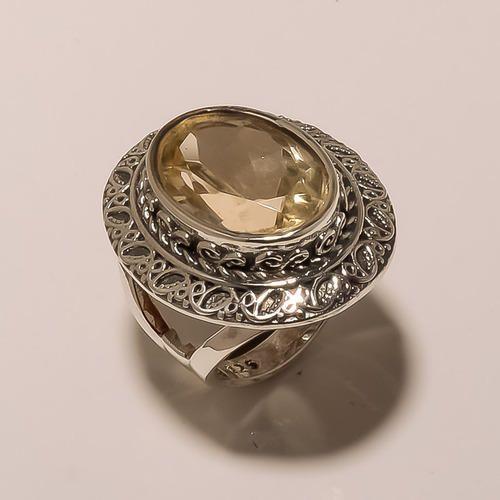 Cut Stone Handmade Ring