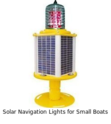 Solar Navigation Lights for Small Boats