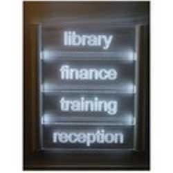 glow sign boards