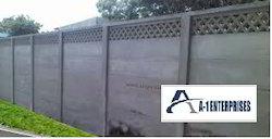 RCC Boundary Precast Compound Wall
