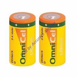 Omnicel Er 34615 Hd High Drain 3.6v Lithium Battery