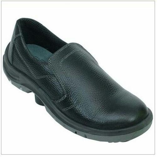 Man Black Stepper Safety Shoes